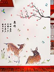 Životinje Zid Naljepnice Zidne naljepnice Dekorativne zidne naljepnice Materijal Početna Dekoracija Zid preslikača