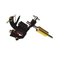 Solid Iron Handmade Tattoo Machine 10 Wrap Coils Gun Shader