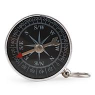 bærbar metall kompass med nøkkelring (liten)
