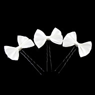 cheap Flower Girls' Accessories-Satin Alloy Headwear Hair Pin with Floral 1pc Wedding Special Occasion Casual Headpiece