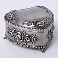 osobní vintage tutania květinové téma srdce designu šperkovnice