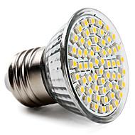 お買い得  LED電球-3.5W 300-350lm E26 / E27 LEDスポットライト PAR38 60 LEDビーズ SMD 3528 温白色 220-240V