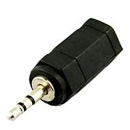 3,5 mm hunstik til 2.5mm hanstik lydadapter konverter