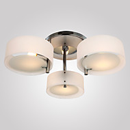 Modern/Contemporary Flush Mount For Living Room Bedroom Study Room/Office Bulb Not Included