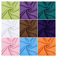 cheap Swatches-Satin Chiffon Fabric by the 1 Yard