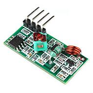 kutilství 433MHz bezdrátový přijímací modul (pro Arduino) (zelená)