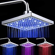 Moderna Chuveiro Tipo Chuva Cromado Característica - Luz LED, Lavar a cabeça