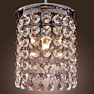 billige Takbelysning og vifter-Mini Anheng Lys Nedlys galvanisert Krystall, Mini Stil 110-120V / 220-240V Pære Inkludert / G9