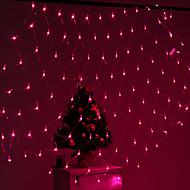 billige -Festival dekorasjon 120-LED 8-modus rosa lys Netto lamper partiet hagegjerdet (220V)