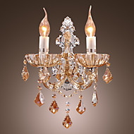 KEARNS - Arandela Cristal com 2 Lâmpadas