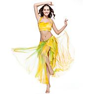 Břišní tanec Sukně Dámské Trénink Polyester Batikování Jeden díl Spuštený Sukně