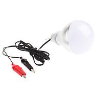 billige Globepærer med LED-7000 lm LED-globepærer 6 leds Høyeffekts-LED Kjølig hvit DC 12 V