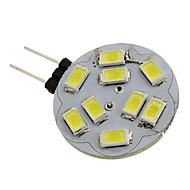 billige Bi-pin lamper med LED-1.5 W 6000 lm G4 LED-spotpærer 9 leds SMD 5730 Naturlig hvit DC 12 V