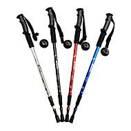 3 Pješačka Poljaci Planinarski štapovi Planinarenje stup 135cm (53 inča) Pokretni Duljina Anti-Shock Aluminijska Alloy Pješačenje