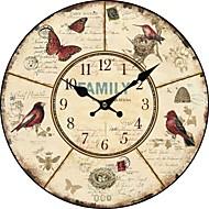 tanie Tamtejsze Zegary ścienne-kraj kwiatów i zwierząt, zegar ścienny