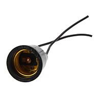 billige Lampesokler og kontakter-E27 Vanntett Lysstikkontakt Plast