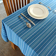 Blue / Green 100% Cotton Square / Rectangular Table Cloths