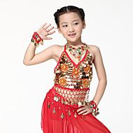 billige Udsalg-Danse tilbehør Smykker Træning Chiffon Mønter