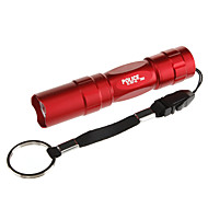 cheap Flashlights & Camping Lanterns-LED Flashlights / Torch LED 100 lm 1 Mode Tactical Everyday Use Black Brown Red Blue