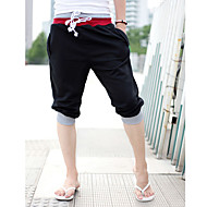 Muškarci Aktivan Širok kroj Ravan kroj Aktivan Kratke hlače Sportske hlače Hlače Jednobojni