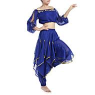 Trbušni ples Outfits Žene Šifon Perlica Šljokice Kovanice 22.44inch (57cm) Prirodno