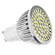 billige Spotlys med LED-6500 lm GU10 LED-spotpærer MR16 60 leds SMD 3528 Naturlig hvit AC 110-130V AC 220-240V