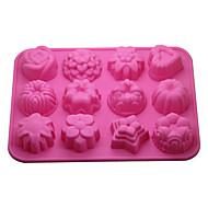 billige Bakeredskap-Bakeware verktøy Silikon Økovennlig / 3D Kake / Til Småkake / Pai Bakeform 1pc