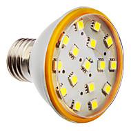 e26 / e27 led spotlight par38 16 smd 5050 320lm kald hvit 6000k ac 220-240v