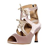 billige Kustomiserte dansesko-Kan spesialtilpasses-Dame-Dansesko-Latinamerikansk Salsa-Sateng-Kustomisert hæl