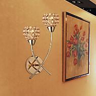 baratos Arandelas de Parede-Moderno / Contemporâneo Luminárias de parede Metal Luz de parede Max 40W