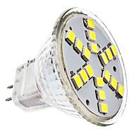 2W 6000 lm GU4(MR11) LED-spotlys MR11 18 leds SMD 2835 Kold hvid AC 12V DC 12V
