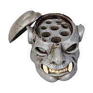 cabeça crânio tatuagem tintas porta copos suporte duro resina pigmento tampão suporte suprimentos