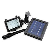 baratos Focos-1 pc de energia solar ao ar livre 30 levou luz de inundação de segurança automática de jardim à prova d 'água