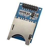 Lendo e escrevendo moduld sd card module slot socket reader para (para arduino) mcu