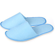 Moderne Light Blue Hotel Guest Slipper Non Skid