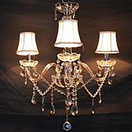 billige Takbelysning og vifter-QINGMING® 3-Light Candle-stil Lysekroner Opplys - Krystall, 110-120V / 220-240V Pære ikke Inkludert / 10-15㎡ / E12 / E14