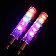 Sykkellykter hjul lys Blinkende ventillys LED Sykling LED Lys Lumens Batteri Sykling-MOON