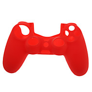 Suave silicone protetor para PS4 Controlador