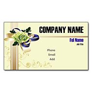 Χαμηλού Κόστους Προσαρμοσμένη Κάρτες-200pcs Εξατομικευμένη 2 Πλευρές Έντυπα Matte Film Pattern Κουνουπίδι Business Card