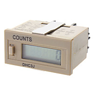 dhc3j temporizador contador mecânico eletrônico digital contador digital de exibição contador digital