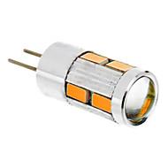 billige Kornpærer med LED-1.5W 2500lm G4 LED-kornpærer T 10 LED perler SMD 5730 Varm hvit 12V
