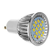 billige Spotlys med LED-4W 350-400 lm GU10 LED-spotpærer 16 leds SMD 5730 Kjølig hvit AC 85-265V