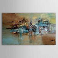 billiga Abstrakta målningar-HANDMÅLAD Abstrakt En panel Kanvas Hang målad oljemålning For Hem-dekoration