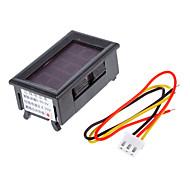 V099 0-99.9V háromvezetékes tápegység 4,0-30V Digitális / digitális voltmérő fejpánt polaritás elleni védelem
