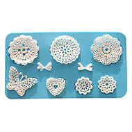 Mold Flower Lace For Cake For Cookie For Pie Silicone Eco-Friendly High Quality Valentine's Day