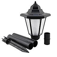 tanie Światła drogi-Ścieżka zewnątrz Solar Power LED Garden Krajobraz Droga Droga Miejsce ciepłe światło lampy (CSS-57252)