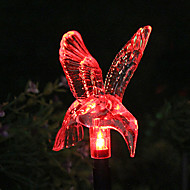 Solar Color-Changing Hummingbird Garden Stake Light(CSS-57326)