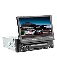 Χαμηλού Κόστους -7 inch 1 Din Windows CE In-Dash DVD Player Ενσωματωμένο Bluetooth / iPod / RDS για Universal Υποστήριξη / Κάρτα Μέχρι 16 GB / SD / Έξοδος subwoofer / Υποστήριξη SD / USB / Οθόνη Αφής