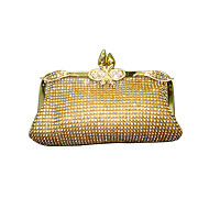 baratos Clutches & Bolsas de Noite-Mulheres Bolsas Acrílico Bolsa de Festa Cristal / Strass Dourado / Prata