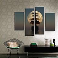 baratos -Canvas Art Landscape envio Conjunto de 4